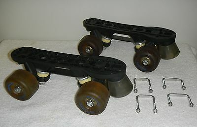 Nash Sports Cruisers Removable Roller Skates Indoor Outdoor -Mounts to Any Shoe