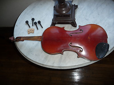 Antique One Pice Back Violin Project