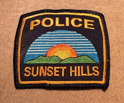 MO Sunset Hills Missouri Police Patch
