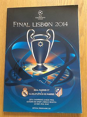 Cristiano Ronaldo Champions League Hand Signed 2014 Programme