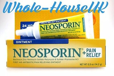 Neosporin First Aid Antibiotic Ointment + Pain Relief Dual Action First Aid - UK