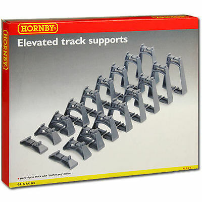 New Hornby R909 Elevated Track Supports 00 Gauge (1:76) Aussie Seller