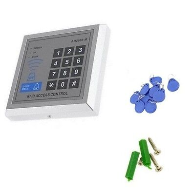 Security RFID Proximity Entry Door Lock Access Control System 500 User +10Keys U
