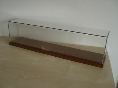 Acrylic Display Case with Wooden Base (46cm)