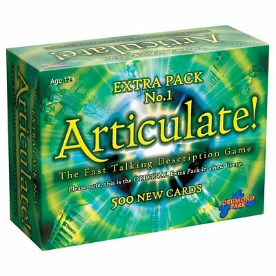 ARTICULATE EXTRA PACK 1 Expansion Board Game