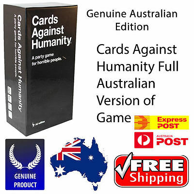 Cards Against Humanity Australian Edition Main Set INCLUDES EXPRESS POST