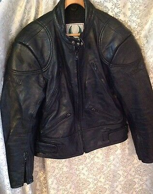 Belstaff Men's Leather Motorcycle Biker Jacket Size 46 -Xl