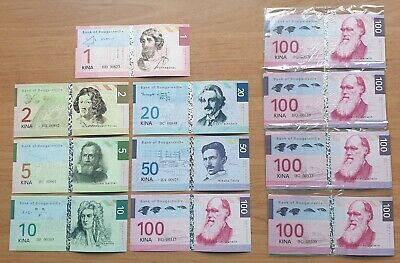 LOT 5 SETS Bougainville set 7 fantasy banknotes 2012 UNC (private issue)
