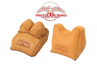 Protektor Model - New Rifle Rest Shooting Set Of 14F Rear & #7F Front Bags