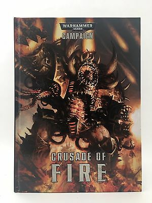 Crusade of Fire HC Chaos Space Marines Warhammer 40K 6th Ed Games Workshop