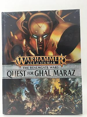 The Realmgate Wars Quest for Ghal Maraz HC Age of Sigmar AOS Games Workshop