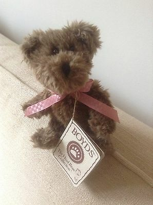 Small Boyds Brown Bear With Original Swing Tag