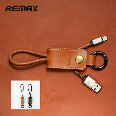 Short Keychain REMAX USB Charger Cable for iPhone 7 6S Plus 5 iPad Data Original