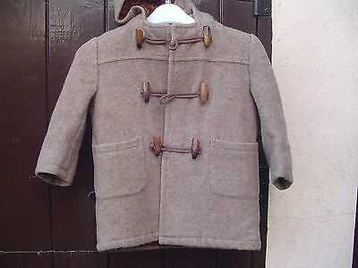 Vintage childs duffle coat age 4 to 5