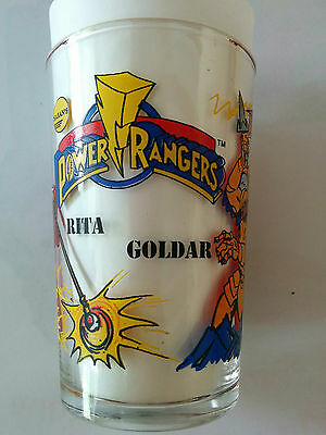 Verre à moutarde POWER RANGERS Saban's 1994 Rita Goldar
