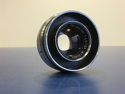 Schneider Kreuznach Componar 105mm f4.5 Enlarger Lens With 32.5mm Fit