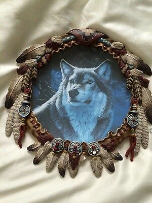 "Hamilton Collection "" Winter majesty "" Portraits of the Wild, Wolf Plate"