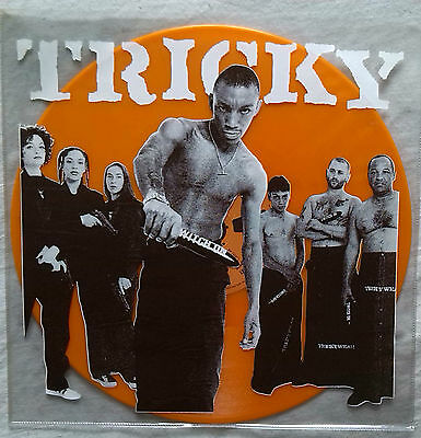 "TRICKY - ""Pumpkin"", Original Limited Orange Vinyl 12"", Trip Hop, Downtempo, 1995"
