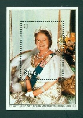 Niue Scott #292 MNH Queen Mother Elizabeth 80th Birthday $$