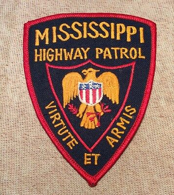 MS Mississippi Highway Patrol Patch (New)