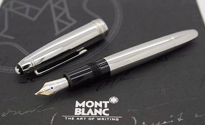 Stunning MONTBLANC Solitaire LeGrand 146 Fountain Pen - Stainless Steel