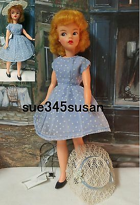 Vintage Tammy Doll Ideal Reliable Canada Blonde Doll Dual Citizenship RARE 1964