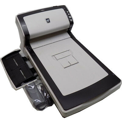 Fujitsu FI-6230 Flatbed Scanner A4 Color Duplex 30ppm/40ppm Workgroup w/ Tray