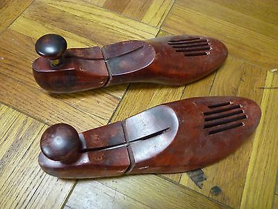 Vintage Shoe Trees Adjustable Stretcher Wooden
