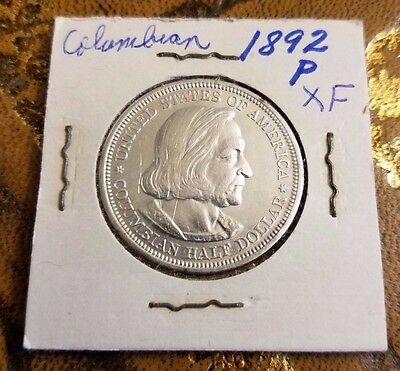 1892 United States Of America Columbian Half Dollar World Exposition