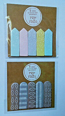 Target One Spot Page Flags 2016 lot planner stationery Kawaii collector