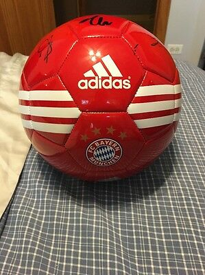 Bayern Munich Soccer Ball Signed By Players Lahm And More
