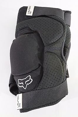 Fox Racing Launch Pro Protective Knee Pad: Pair Black LG / XL Large / X-Large