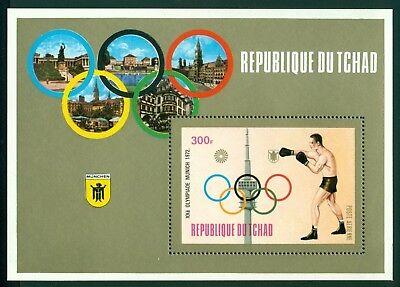 Chad Scott #C139 MNH Olympics 1972 Munich Boxing CV$4+
