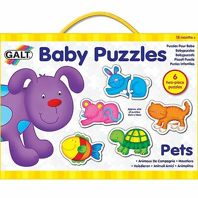 GALT Toys Baby/Infant/Toddler/Child/Kids Matching Puzzle Game - Pets