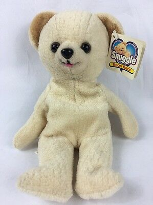 1999 Lever Brothers Snuggle the Fabric Softener Bear Plush Beanie Bear 8""