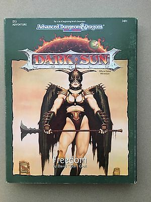 Freedom Dark Sun Dungeons & Dragons 2nd DS1 TSR 2401 used