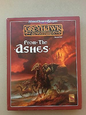 From the Ashes Greyhawk Adventures Dungeons & Dragons TSR 11064 NM