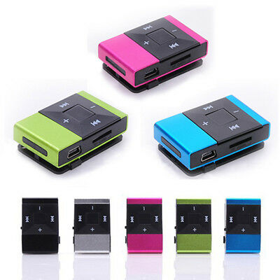 MINI MP3 PLAYERS 8GB or 16GB MEMORY WITH CLIP BRAND NEW - Local Brisbane Seller