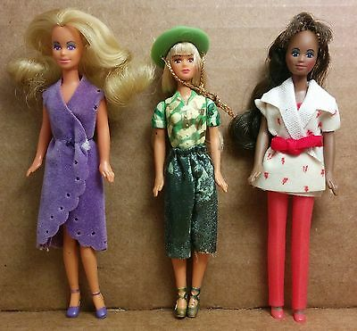 Glamour Gals Mattel Dazzle Clones Mini Tiny Small RARE Nasta Fashion Doll Lot E