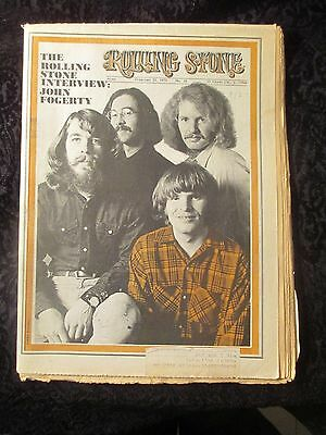 Vintage Feb. 21, 1970 Rolling Stone issue #52 John Fogerty Creedence Clearwater