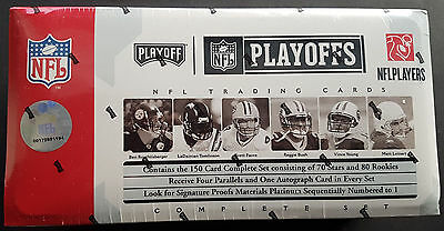 2006 Playoff NFL Playoffs Set (Prime Firmas) Football Hobby