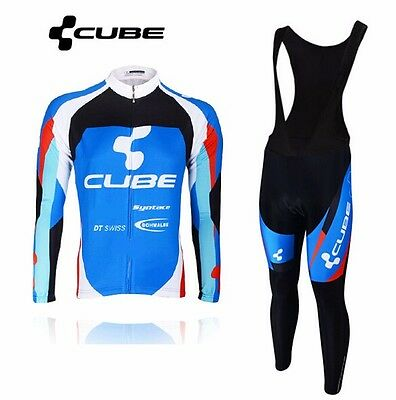 Completo Invernale/Cycling Jersey and pants Team Cube 2 2016 Thermal Winter