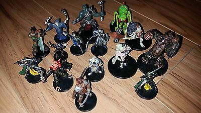 Dungeons and Dragons D&D Miniatures Lot