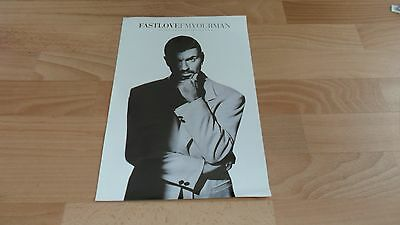 George Michael - Fast Love (Very Rare Promo Poster -  Promoting Single) Wham
