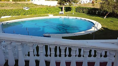 Lovely big family holiday villa in Spain sleeps 8 communal pools & tennis courts