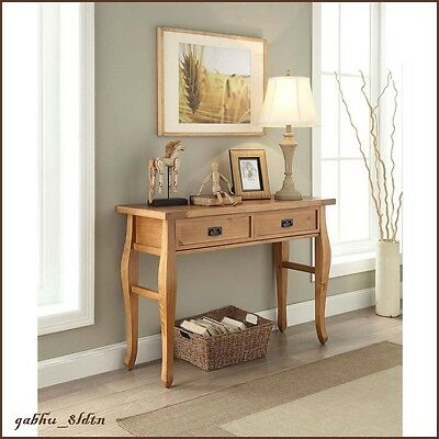 Console Table Southwest Furniture Vintage Antique Finish Entryway Living Room