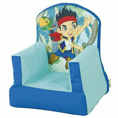 Jake & The Never Land Pirates Cosy Chair New - Inflatable Soft Cover 280Jnp01E