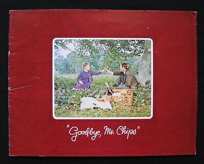 GOODBYE MR CHIPS 1969 Original movie programme Peter O'Toole Petula Clark