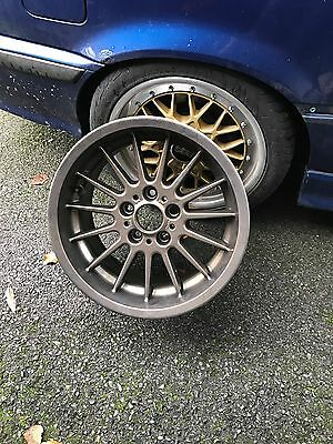 """BMW E39 STYLE 32 - 17"""" ALLOY WHEELS STAGGERED GENUINE  8j & 9j"""