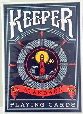 Bicycle Ellusionist Keepers Deck by Adam Wilber US Playing Cards Magic Poker